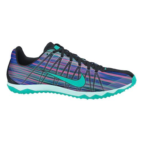 Womens Nike Zoom Rival Waffle Cross Country Shoe - Purple/Teal 5