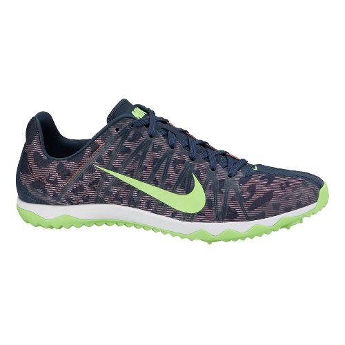 Womens Nike Zoom Rival Waffle Cross Country Shoe - Slate/Atomic Pink 9