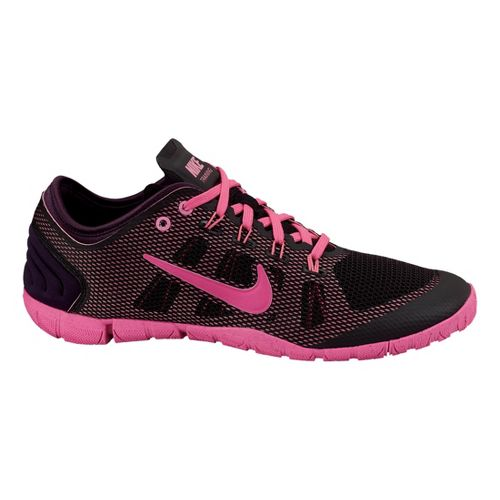 Womens Nike Free Bionic Cross Training Shoe - Black/Pink 8