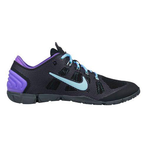 Womens Nike Free Bionic Cross Training Shoe - Black/Purple 11