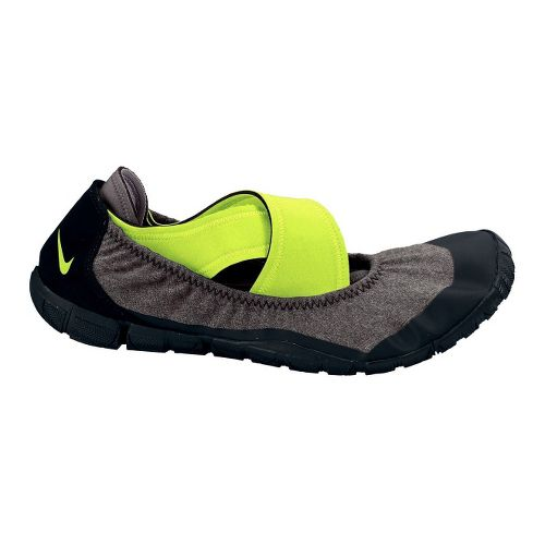 Womens Nike Studio Pack Cross Training Shoe - Grey/Volt 10