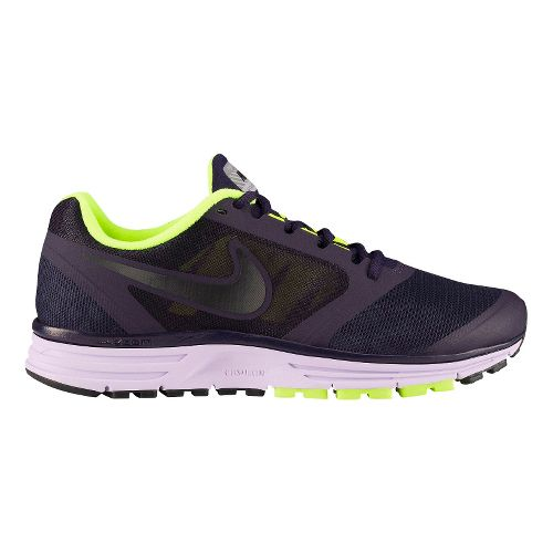 Womens Nike Zoom Vomero+ 8 Shield Running Shoe - Purple/Cheebra 9