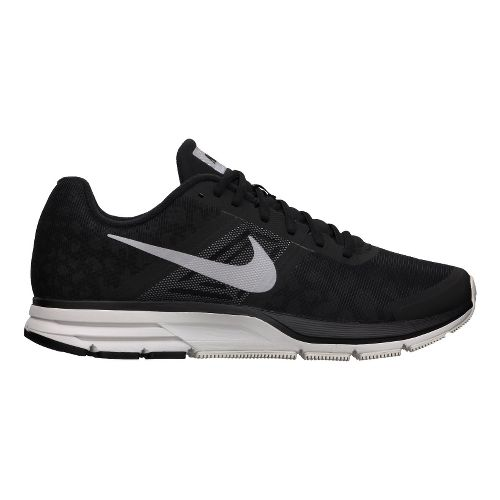 Mens Nike Air Pegasus+ 30 Shield Running Shoe - Black/Cheebra 10