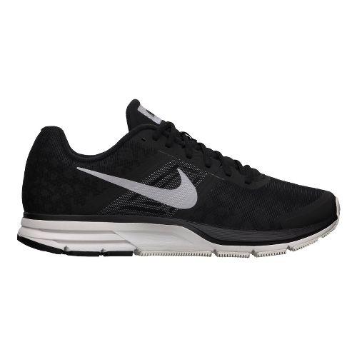 Mens Nike Air Pegasus+ 30 Shield Running Shoe - Black/Cheebra 12