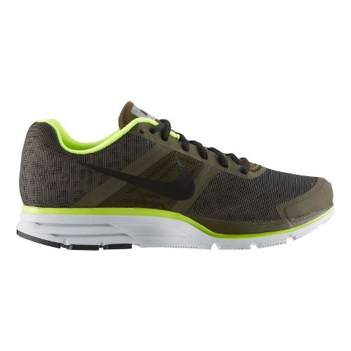 Mens Nike Air Pegasus+ 30 Shield Running Shoe - Loden/Cheebra 8