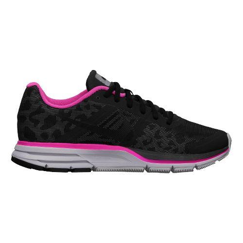 Womens Nike Air Pegasus+ 30 Shield Running Shoe - Black/Cheebra 6.5