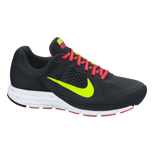 Mens Nike Air Zoom Structure+ 17 Running Shoe - Black 10.5