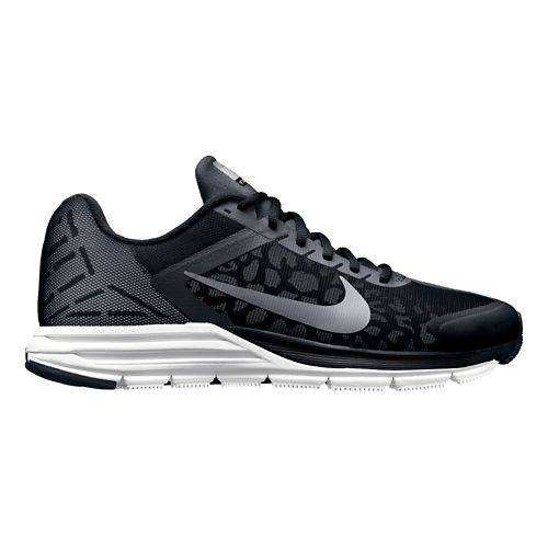 Mens Nike Zoom Structure+ 17 Shield Running Shoe - Black/Cheebra 11.5