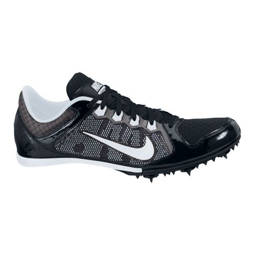 Mens Nike Zoom Rival MD 7 Track and Field Shoe - Black/White 12