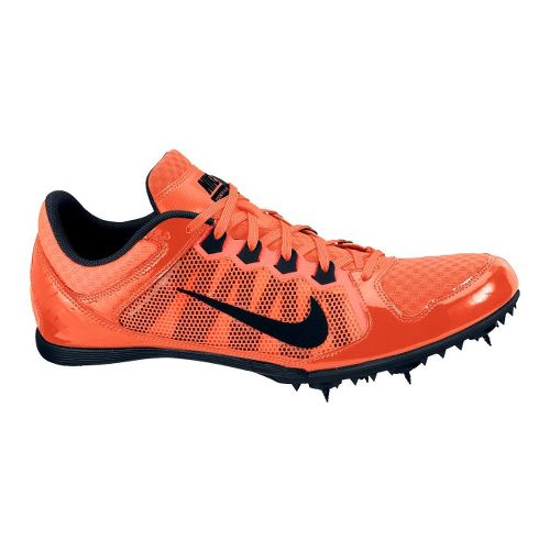 Mens Nike Zoom Rival MD 7 Track and Field Shoe - Neon Red 1.5