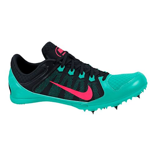 Womens Nike Zoom Rival MD 7 Track and Field Shoe - Black/Jade 10