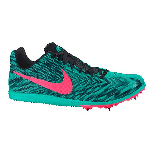 Womens Nike Zoom Rival D 8 Track and Field Shoe - Jade 7