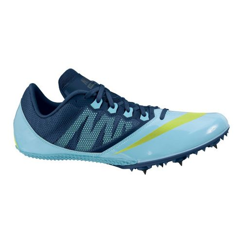 Mens Nike Zoom Rival S 7 Track and Field Shoe - Blue 1
