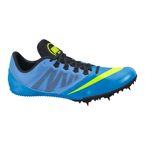Mens Nike Zoom Rival S 7 Track and Field Shoe - Blue/Black 4