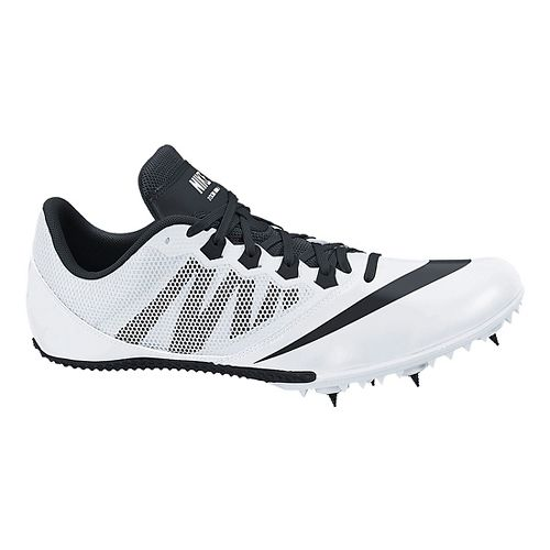 Mens Nike Zoom Rival S 7 Track and Field Shoe - White 10.5
