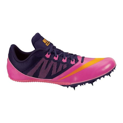 Womens Nike Zoom Rival S 7 Track and Field Shoe - Pink/Purple 4