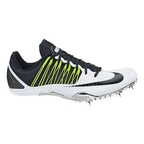 Nike Zoom Celar 5 Track and Field Shoe - White/Black 7.5