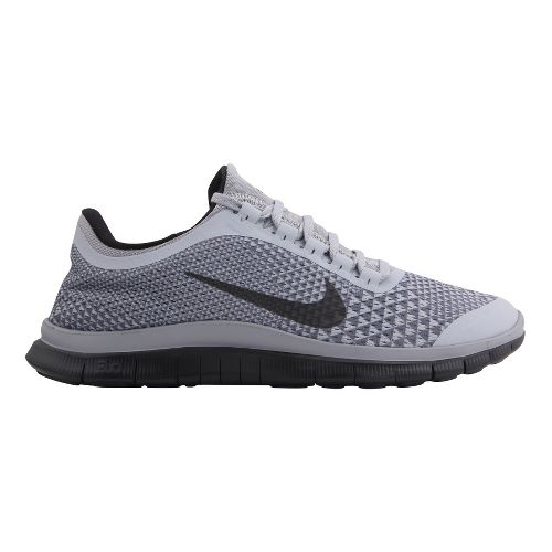 Mens Nike Free 3.0 v5 PRM Running Shoe - Grey/Black 8.5