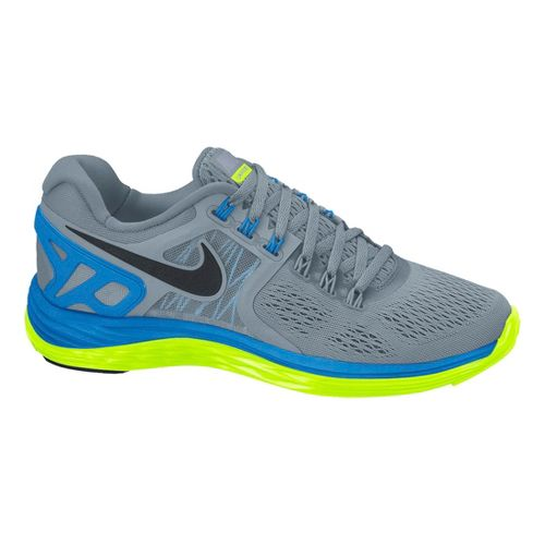 Womens Nike LunarEclipse 4 Running Shoe - Grey/Blue 10.5