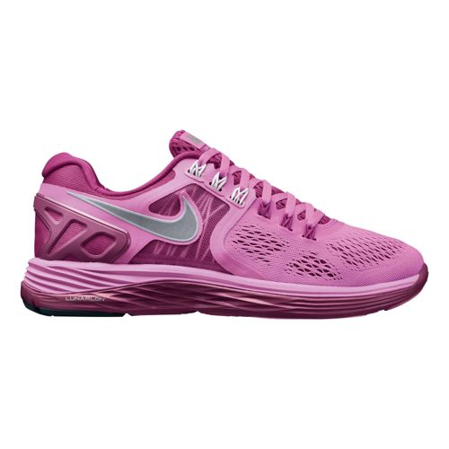 Womens Nike LunarEclipse 4 Running Shoe - Pink/Magenta 9