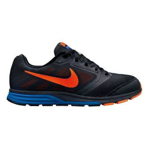 Mens Nike Zoom Fly Running Shoe - Black/Orange 9
