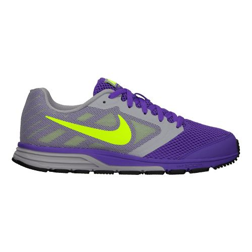 Womens Nike Zoom Fly Running Shoe - Grey/Purple 9
