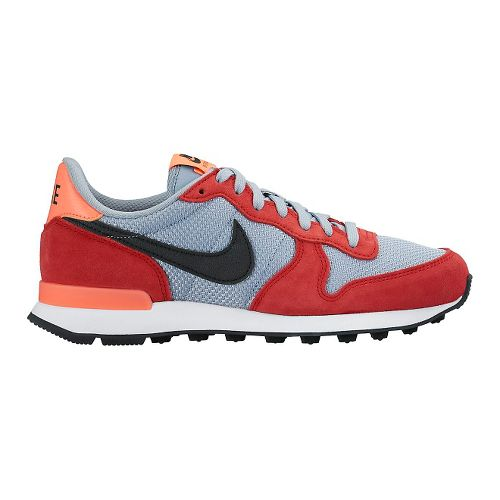 Womens Nike Internationalist Casual Shoe - Red/Grey 7