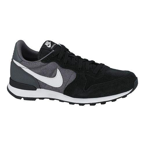 Womens Nike Internationalist Casual Shoe - Black/Grey 10
