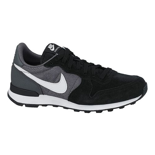 Womens Nike Internationalist Casual Shoe - Black/Grey 6