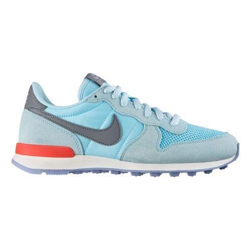 Womens Nike Internationalist Casual Shoe - Blue 10.5