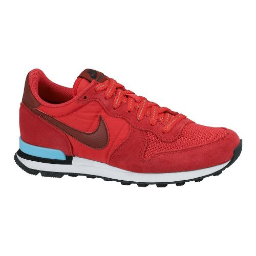 Womens Nike Internationalist Casual Shoe - Red 9.5