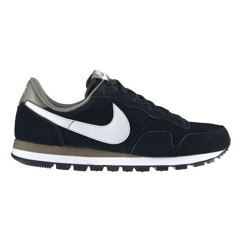 Mens Nike Air Pegasus '83 LTR Casual Shoe - Black 12.5