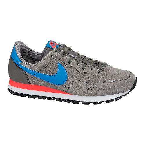 Mens Nike Air Pegasus '83 LTR Casual Shoe - Grey/Blue 12.5