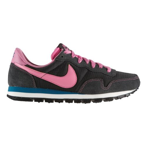 Womens Nike Air Pegasus '83 LTR Casual Shoe - Grey/Pink 8.5