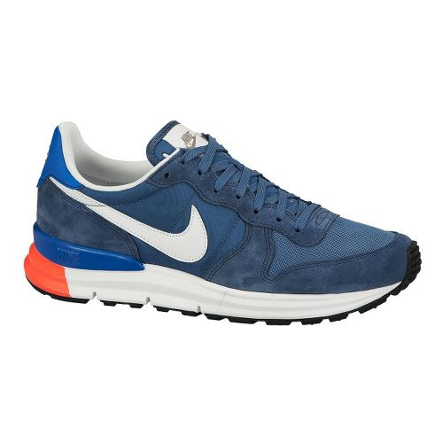 Mens Nike Lunar Internationalist Casual Shoe - Blue 8