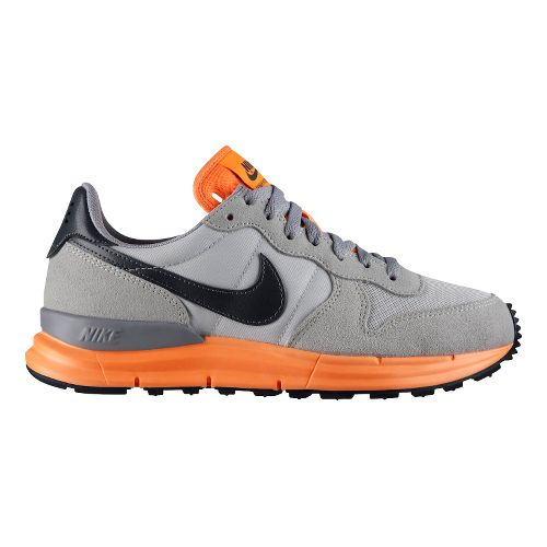Mens Nike Lunar Internationalist Casual Shoe - Grey/Orange 10