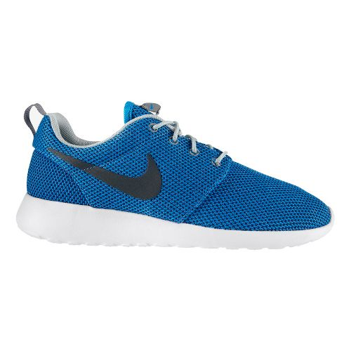 Mens Nike Roshe Run Casual Shoe - Blue/White 12