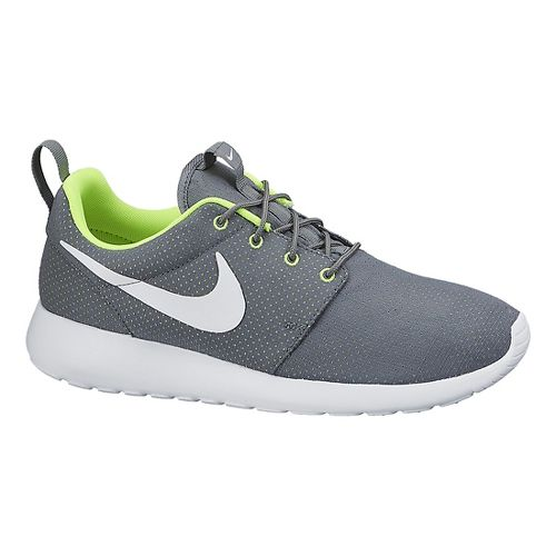 Mens Nike Roshe Run Casual Shoe - Grey 12.5