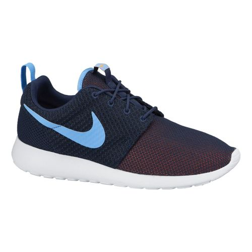 Mens Nike Roshe Run Casual Shoe - Navy 8.5