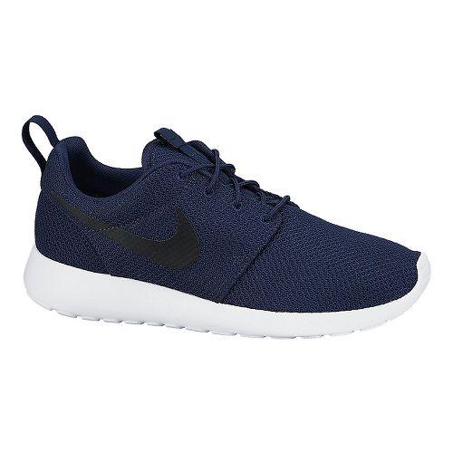 Mens Nike Roshe Run Casual Shoe - Navy/White 14