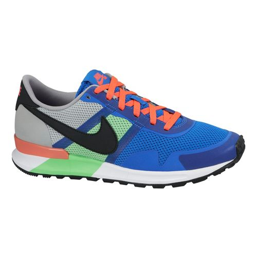 Mens Nike Air Pegasus 83/30 Casual Shoe - Blue/Silver 10.5