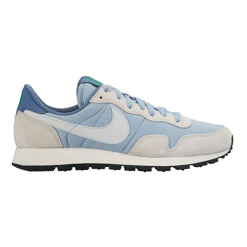 Womens Nike Air Pegasus '83 Casual Shoe - Blue/Platinum 10.5