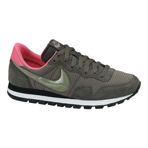 Womens Nike Air Pegasus '83 Casual Shoe - Grey/Pink 7.5