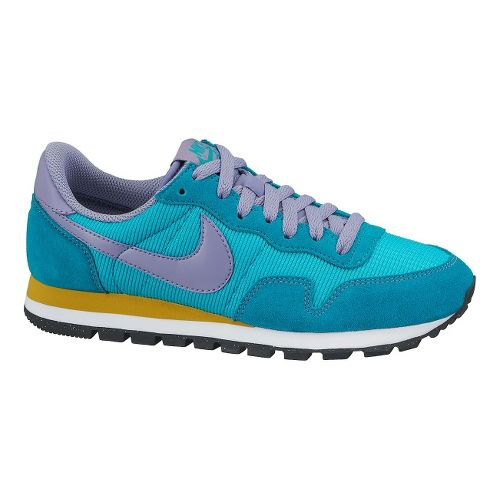 Womens Nike Air Pegasus '83 Casual Shoe - Turquoise/Purple 7