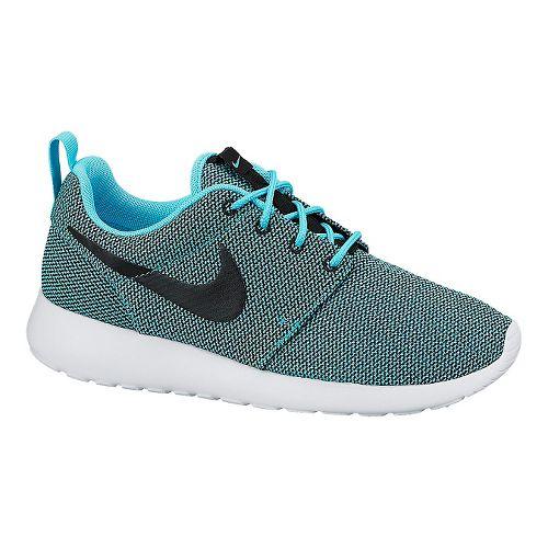 Womens Nike Roshe Run Casual Shoe - Blue/Black 10