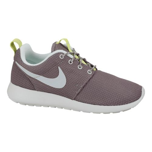 Womens Nike Roshe Run Casual Shoe - Grey 8