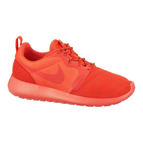 Womens Nike Roshe Run HYP Casual Shoe - Laser Red 6.5