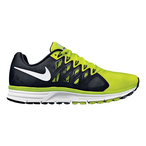 Mens Nike Air Zoom Vomero 9 Running Shoe - Black/Volt 8
