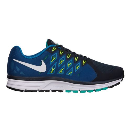 Mens Nike Air Zoom Vomero 9 Running Shoe - Grey/Blue 12.5