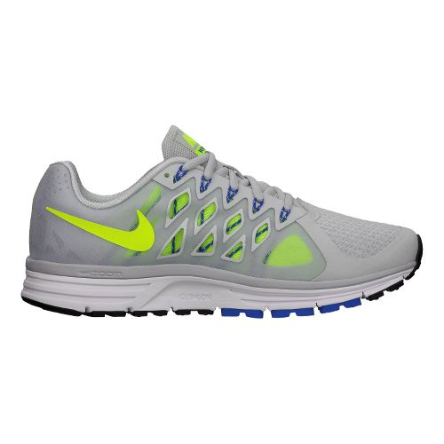 Mens Nike Air Zoom Vomero 9 Running Shoe - Grey/Volt 9